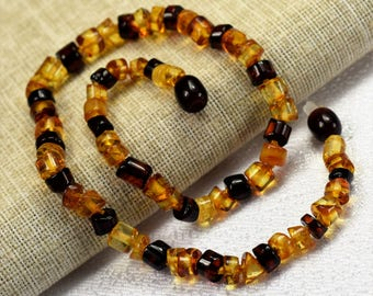 Amber teething necklace. Baltic amber. Baltic amber teething necklace. Amber necklace. Baltic amber necklace. Amber. Amber Jewelry