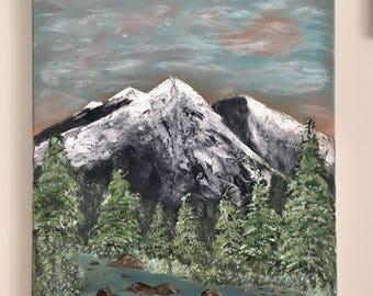 Mountain adventures, wilderness, art, outdoors, adventurous