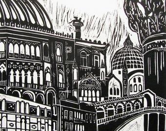 Italy gift, Italy print, Venice Italy print, Italian architecture, Venice Florence Verona, contemporary, monochrome