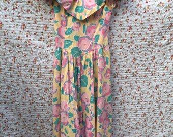 Vintage sundress by Laura Ashley