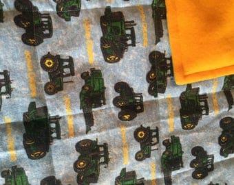 John deere weighted blanket green tractors