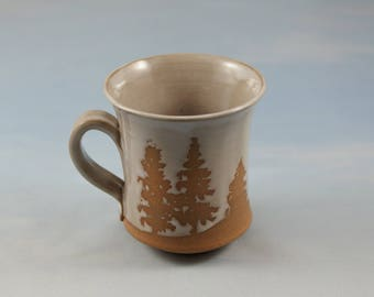 Muskoka Pottery Mug Wheelthrown Stoneware