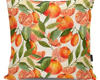 Decorative pillow Tangerines