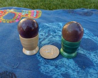 Fluorite Crystal Ball, Sphere, Marble, Purple Fluorite, Banded Fluorite