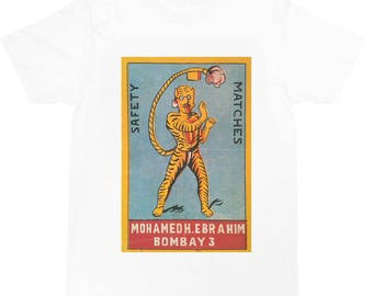 retro Matchbox T-shirt  (tiger)