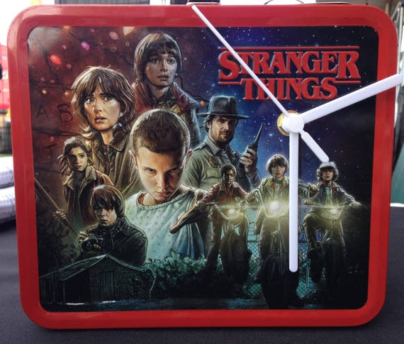 STRANGER THINGS Box Clock