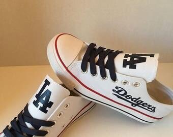 LA Dodgers tennis shoes