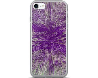 Purple Burst iPhone 7/7 Plus Case, iPhone Covers and Accessories, Modern iPhone Cases