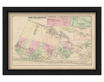Southampton Villages 1873
