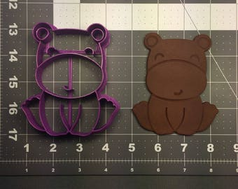 Hippo Baby 101 Cookie Cutter