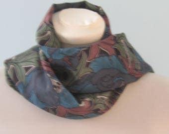 Libert print varuna wool scarf