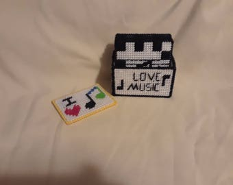 I love music coasters and magnet