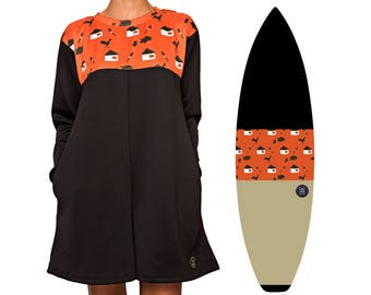 NEW IN | Rond-Oh-Well | Surfboard Sock & Winter Playsuit Bundle | Free Pocket + Nose Padding Add-ons