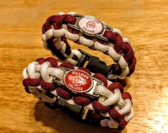 Hillman College Inspired Paracord Bracelet