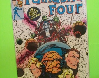 Fantastic Four #253 Fantastic Four in the Negative Zone VF-NM Unread Condition 1983 Marvel Comics  Vintage Comic Book Great Gift  Idea
