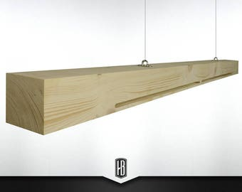 The Shining pendant lamp made of 150cm solid wood