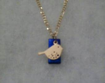 Little Bird Blue Pendant
