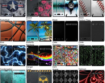 Choose Any 2 Designs - Vinyl Skins / Decals / Stickers for LG Optimus Dynamic - Android Smartphone
