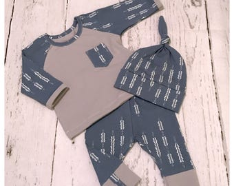 Baby boy outfit , baby boy clothes , boy clothing sets  , baby boy size Nb to 2t set , baby shower gift , boy outfit , baby clothes