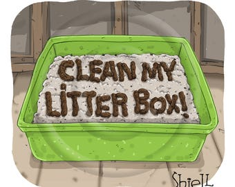 Clean My Litterbox!