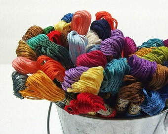 DMC Cotton Floss, Choose 25 - Embroidery Thread - Needlework - Hand Stitching