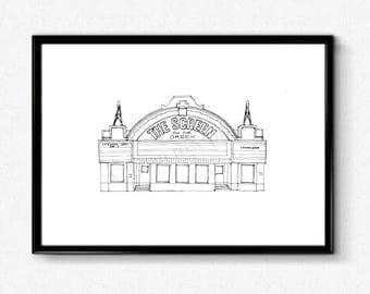 Personalised Special Location Illustration