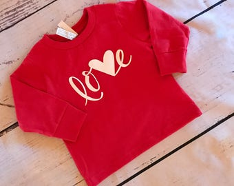 Valentines day shirt - Valentine gift   - Child Toddler Kid  And adult Valentine shirt - personalized