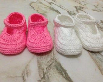 In Bulk Crochet Baby Booties, Wholesale Baby Girl Booties, Baby Shower Gift, Baby Shoes, Bébé crochet bottillons, Baby crochet mary janes