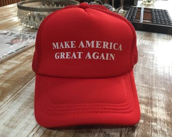 Make America Great Again hat.