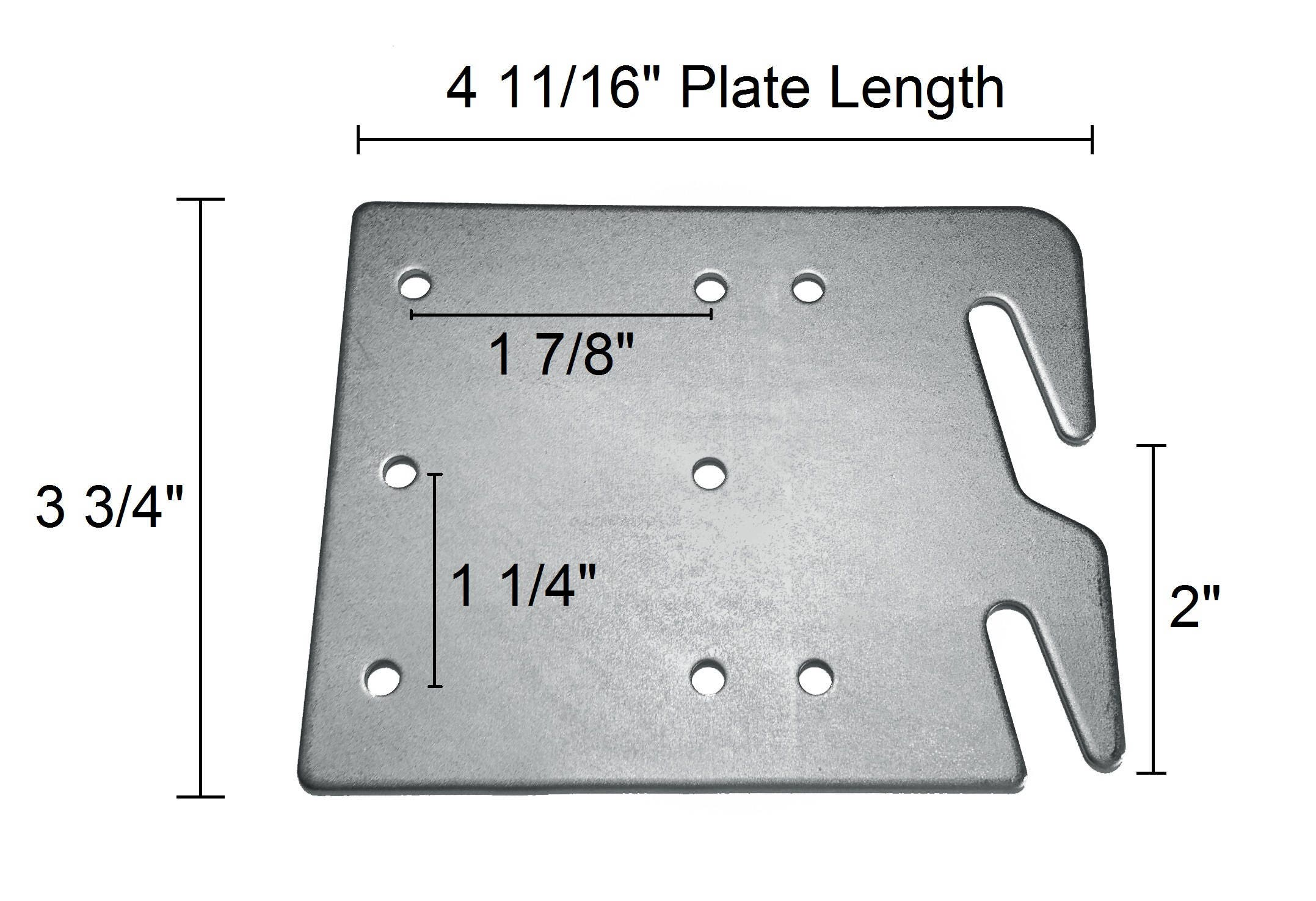 $30.00  sc 1 st  Etsy Studio & Bed Rail Hook Plates Wood Bed Rail Restoration Assembly [Includes ...