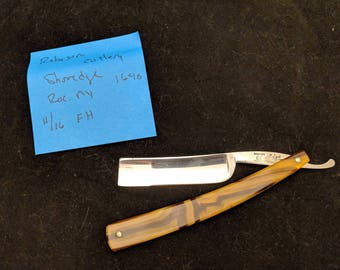 Robeson Cutlery 11/16 Full Hollow Spike Shave Ready Straight Razor