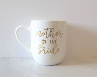 Mother of the Bride coffee Mug | Personalized | Gift for mom