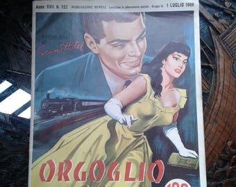 """Italian vintage magazine ~ """"Orgoglio di razza"""" 1966"""
