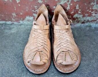 TAMAZULA CLASSIC STYLE mexican sandals men's huaraches mexicanos genuine leather cuero autentico