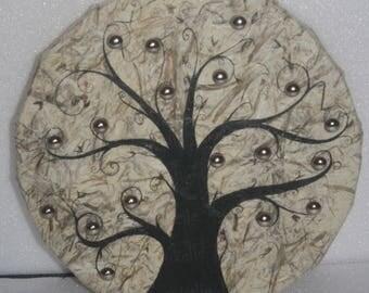 Etsy acheter vendre et vivre handmade - Arbre a bijoux mural ...