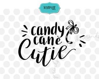 Candy cane cutie svg, elf svg, Santa svg, Merry Christmas svg, silhouette cameo, winter svg, svg cutting file, svg, Christmas svg. cr70