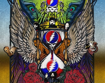 Grateful Dead - Then-Now-Forever - Hour Glass 1965