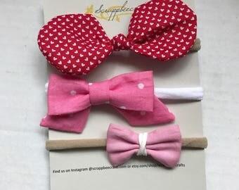 3 Valentine's Day Bows