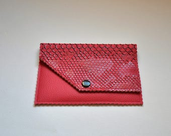 faux Passport wallet, card holder