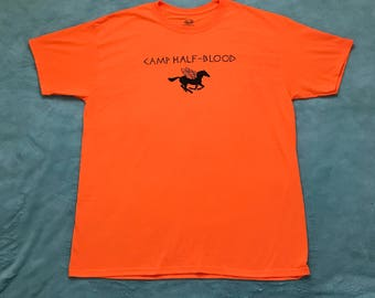 Hand-Painted Camp Half-Blood Shirt