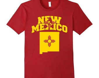 Made In New Mexico T-shirt I Love New Mexico Home Tee