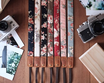 Flower - Camera Strap