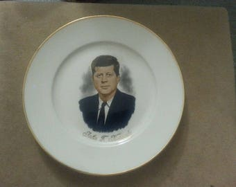 Vintage John F Kennedy Collector Plate