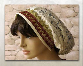Medieval hair NET CAP loading prevention many colors