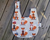 Single Knot Project Bag - Dapper Foxes
