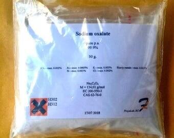 Sodium oxalate - 99.8% pure p.a. 50-100-200g powder 62-76-0 Free shipping