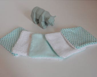 Toilet baby cotton wash cloth
