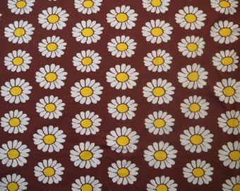 Naperonuttu Daisy organic Jersey children's fabric Finnish design Scandinavian