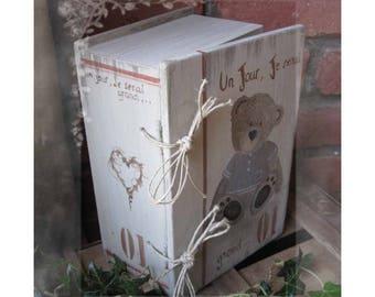 """Book box """"When I grow"""""""