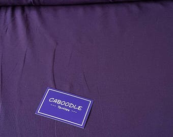 Dark Purple, Cotton Lycra Jersey Knit Fabric
